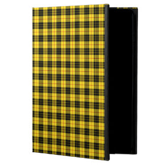 Yellow and Black MacLeod Clan Scottish Plaid Case For iPad Air