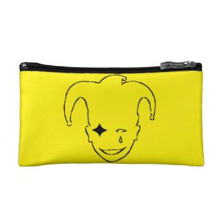 Yellow And Black MTJ Cosmetic Bag