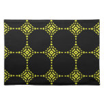 Yellow and black Placemat