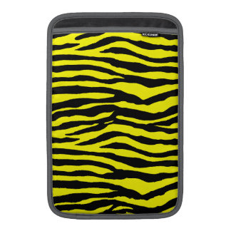 Yellow and Black Tiger Stripes Sleeve For MacBook Air