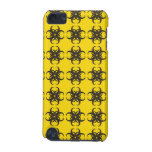 Yellow and Black Tribal Fractal Pern