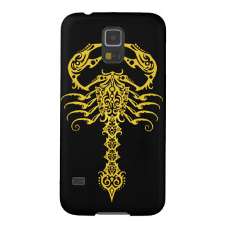 Yellow and Black Tribal Scorpion Galaxy S5 Case