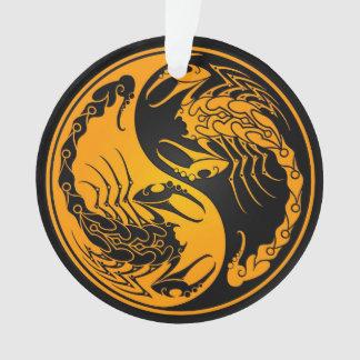 Yellow and Black Yin Yang Scorpions