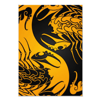 Yellow and Black Yin Yang Scorpions Announcements