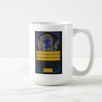 Yellow and Blue Arts Mug
