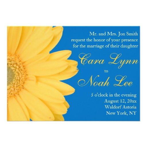 1,000+ Yellow Daisy Wedding Invitations, Yellow Daisy ...
