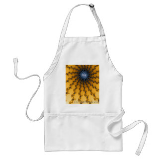 Yellow and Blue Star Adult Apron