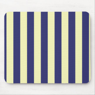 yellow and blue stripes mouse pad