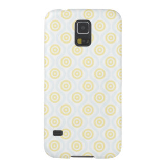 Yellow and Blue Undulation Case For Galaxy S5