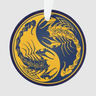 Yellow and Blue Yin Yang Scorpions