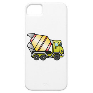 Yellow and Cement Mixer iPhone 5 Cases