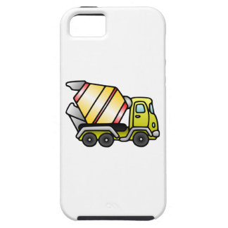 Yellow and Cement Mixer iPhone 5 Case