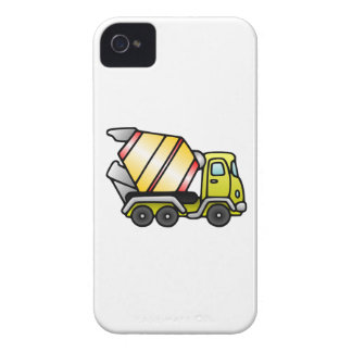 Yellow and Cement Mixer iPhone 4 Case-Mate Cases