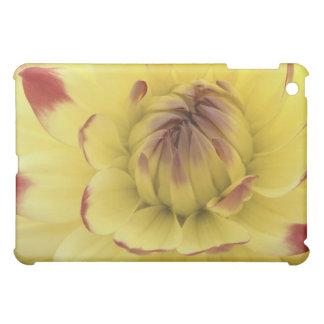 Yellow and Dahlia Flower iPad Case