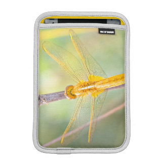 Yellow and Gold Dragonfly iPad Mini Sleeve
