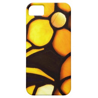 Yellow and Gold Tiffany Flowers iPhone 5 Cover