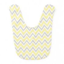 Yellow and Gray Bib