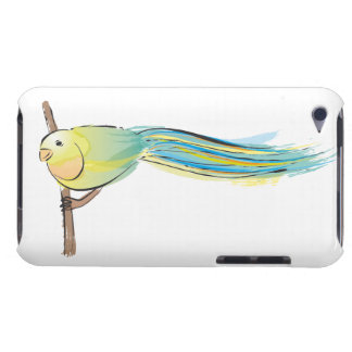 Yellow and Green Bird iPod Touch Cases