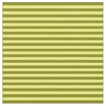 [ Thumbnail: Yellow and Green Colored Stripes Pattern Fabric ]