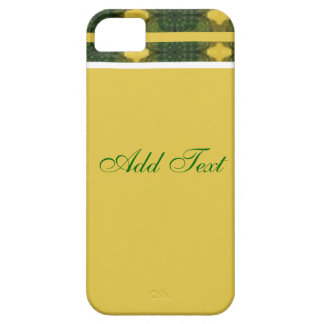 Yellow and Green Floral iPhone 5 Case