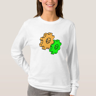 Yellow and green gears T-Shirt