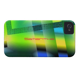 Yellow and Green iPhone 4 cover for Samantha