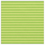 [ Thumbnail: Yellow and Green Pattern of Stripes Fabric ]