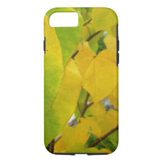 Yellow and Green Redbud Leaves Autumn Nature iPhone 7 Case