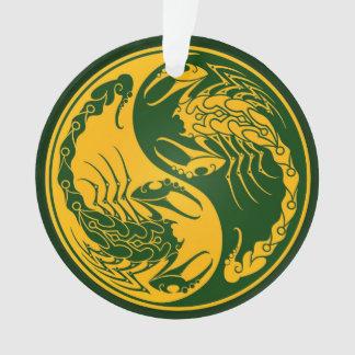 Yellow and Green Yin Yang Scorpions
