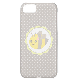 Yellow and Grey Baby Bee iPhone 5C Covers