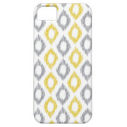 Yellow and Grey iKat pattern iPhone Case iPhone 5 Covers