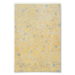 yellow and Grey Wildflowers Posters
