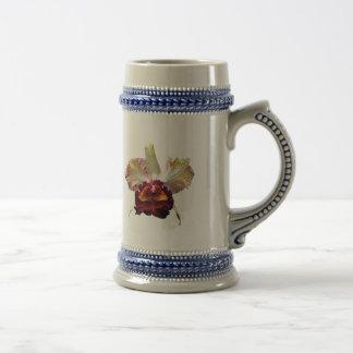 Yellow and Magenta Orchid Coffee Mug