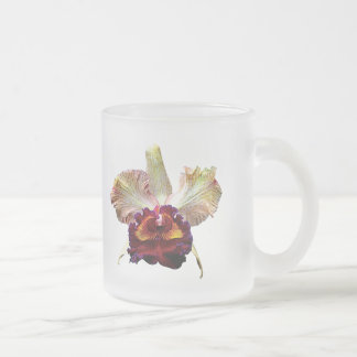 Yellow and Magenta Orchid Mugs