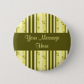 yellow and olive stripes button