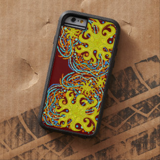 Yellow And Orange Astrum Vita Abstract Art Tough Xtreme iPhone 6 Case