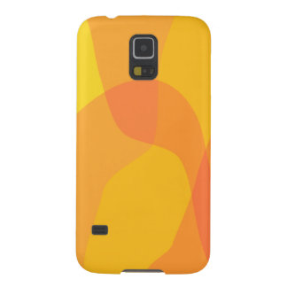 Yellow and Orange Case For Galaxy S5