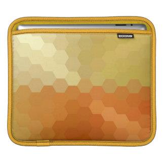 Yellow and Orange Chevron Seamless Pattern 2 iPad Sleeves