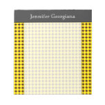 [ Thumbnail: Yellow and Orange Dots/Circles Pattern + Name Notepad ]