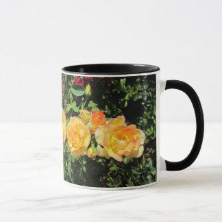 Yellow and Orange flowers Mug
