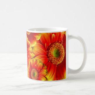 Yellow and Orange Gerbera Daisies Coffee Mug