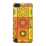 Yellow and Orange Hippie Flower Pattern