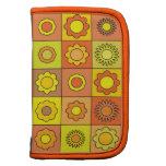 Yellow and Orange Hippie Flower Pattern Organizer