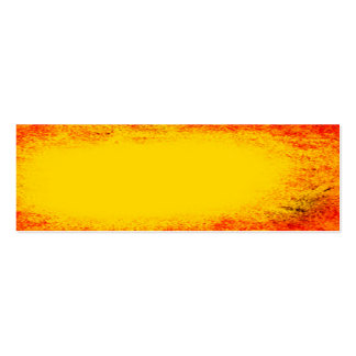 Yellow and Orange Indian summer grunge texture Double-Sided Mini Business Cards (Pack Of 20)