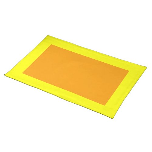 Yellow and Orange Placemat