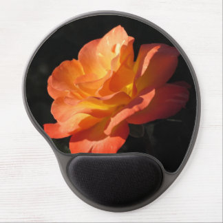 Yellow and Orange Rose Gel Mouse Pad
