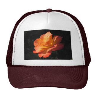 Yellow and Orange Rose Hat
