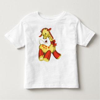 Yellow and Orange Toy Giraffe T Shirt