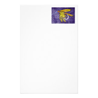 """""""Yellow and Orange"""" Wet Fly Stationery"""