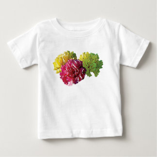 Yellow and Pink Carnations Kids Baby T-Shirt